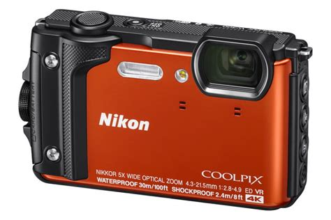 Rugged Nikon Coolpix W300 Lets You Shoot Underwater in 4K