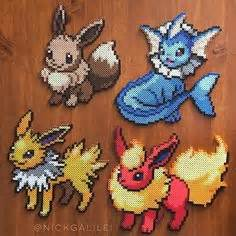 Charizard Pokemon perler beads by harvardropout | Projects