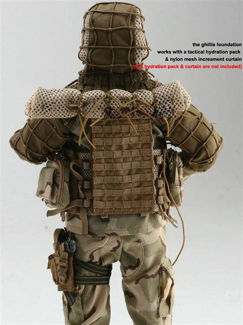 Military Sniper Ghillie Airsoft Paintball Ghillie Viper