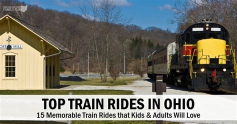 15+ Best Train Rides in Ohio that Kids & Adults will Love