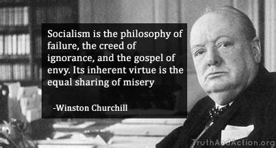 Winston Churchill: Wise words on Socialism - Truth And Action