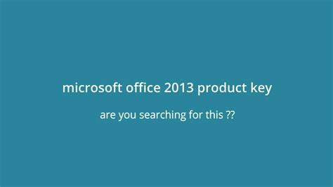 Download and Install Microsoft Office 2013 Generic Volume