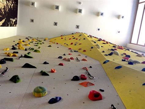 Climbing Hall and boulder indoor