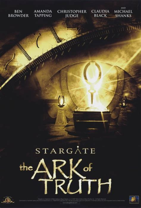 Stargate: The Ark of Truth Movie Posters From Movie Poster