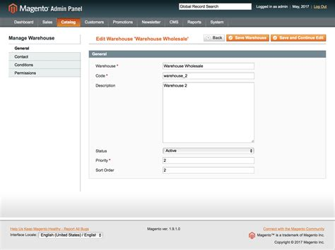 Magento Multi-Warehouse Inventory Extension