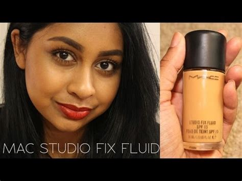 MAC Studio Fix Fluid First Impression and Review