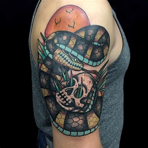 85 Contradictory Snake Tattoo Designs - The Symbol Full of