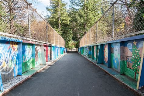 rob's thoughtful spot: los gatos creek trail mile markers