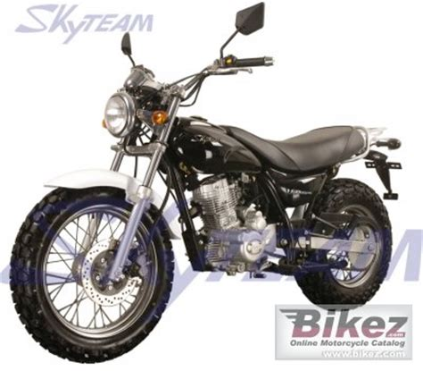 2009 Skyteam ST125-2 V-raptor specifications and pictures