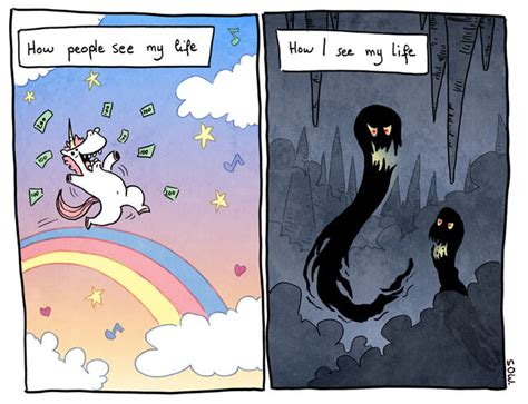 13 Beautifully Honest Comics About Anxiety And Depression