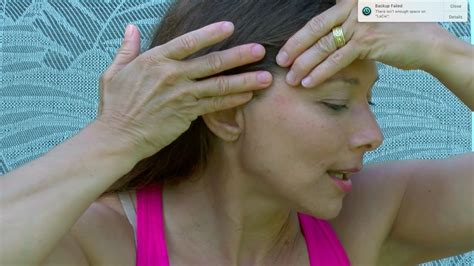 Self Lymphatic Drainage Massage for Swelling - YouTube