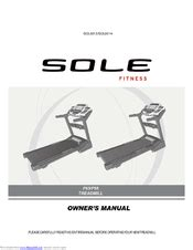 Sole Fitness F63 Manuals