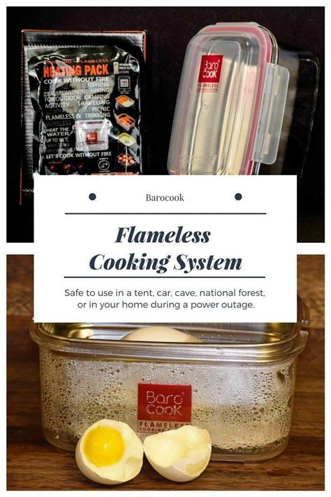 Flameless Cooking System - Barocook Review - Emergency