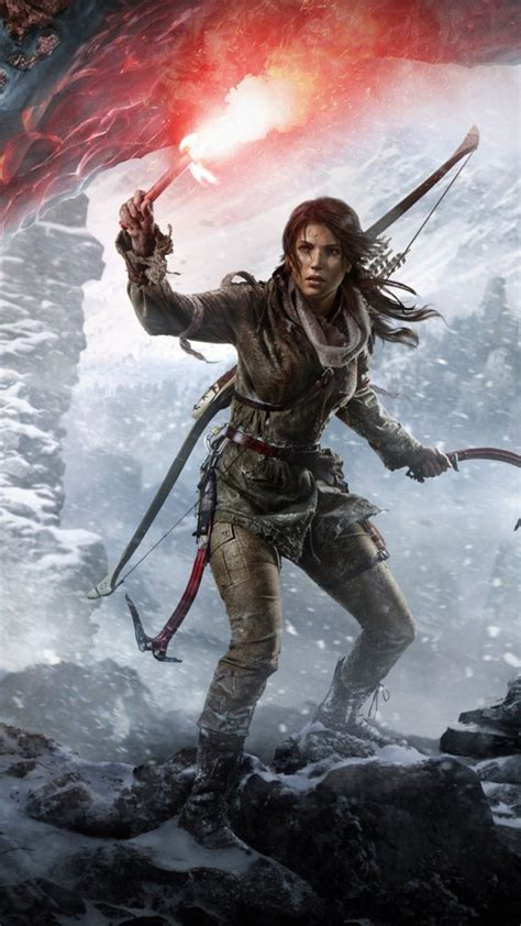 Rise Of The Tomb Raider Iphone Wallpapers Widescreen > Yodobi