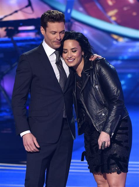 Demi Lovato Performing on American Idol in Hollywood