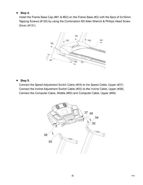 SOLE F63 Owner's Manual | Page 10 - Free PDF Download (28