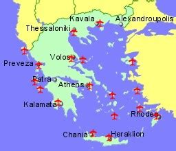 Greece Airports & Flights to Greece from the UK or Ireland