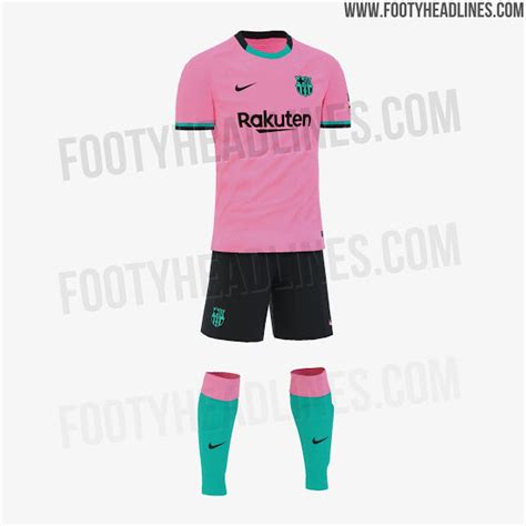 FC Barcelona 20-21 Third Kit Leaked - Full Look With