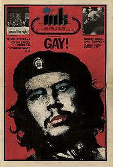 UK Gay Liberation Front 1971 Festival of Light action