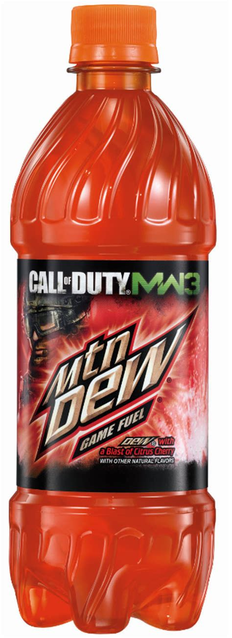 OH MY GOODNESS MTN DEW GAME FUEL CITRUS CHERRY IS THE