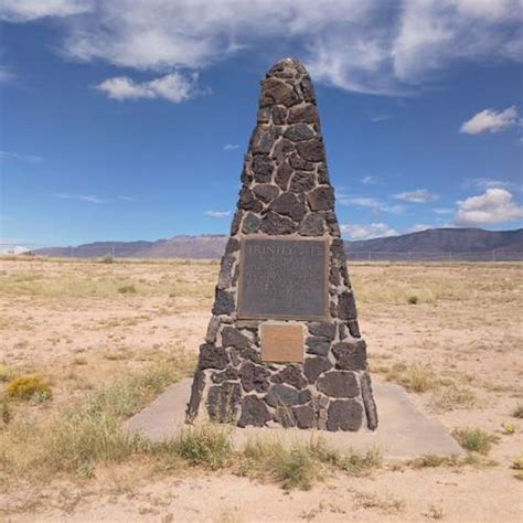 Trinity Test Memorial in White Sands, NM (Google Maps