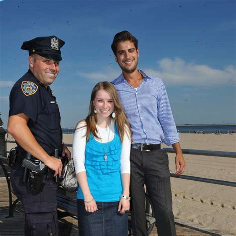 Police Officer Albert Mannon plays matchmaker on Coney