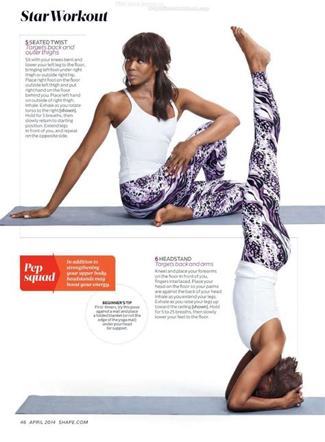NAOMI CAMPBELL in Shape Magazine, April 2014 Issue