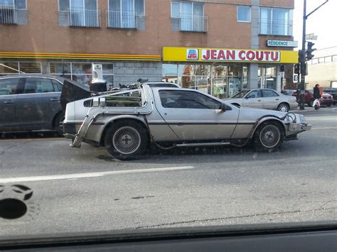 Spotted: Back To The Future Delorean Driving Around Montreal