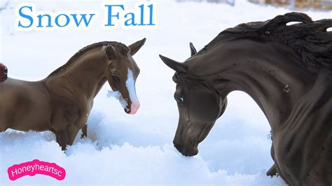 Snow Play Day - Breyer Horse Traditional Horses Play Video