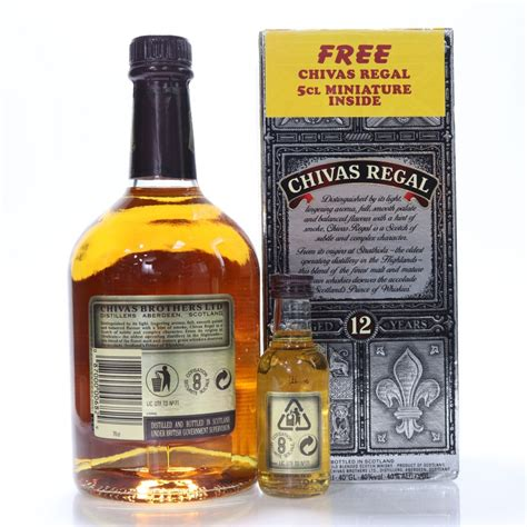 Chivas Regal 12 Year Old 70cl & Miniature 5cl | Whisky