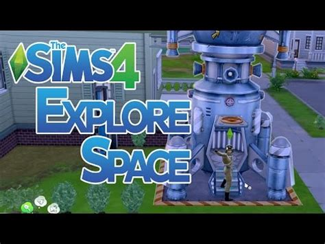 The Sims 4 How to do Space Missions and Explore Space - wp_022