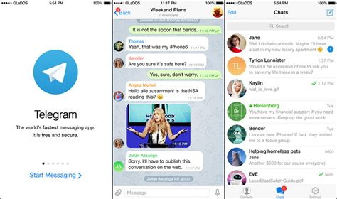 12 Free Encrypted & Decentralized Messenger For iOS And