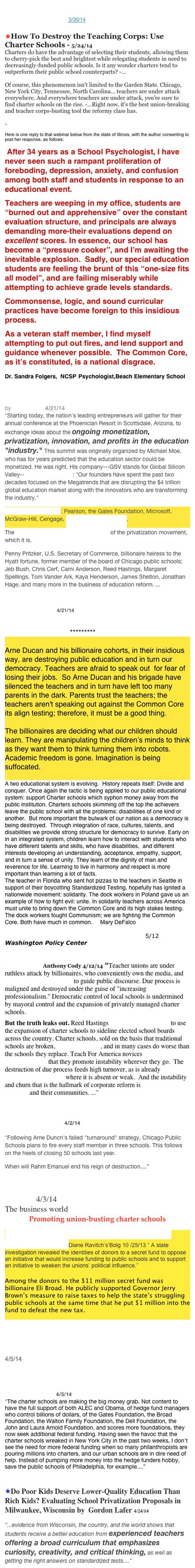 Eight Problems With Common Core