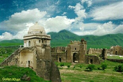 Awesome view of beautiful Rohtas fort Jhelum Punjab