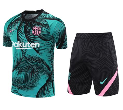 Barcelona 20/21 UCL Pre Match Training Kit by Nike