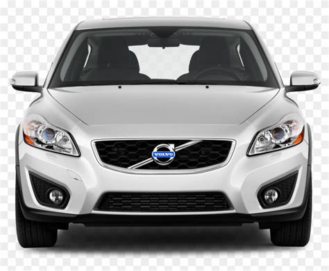 Volvo Png - Volvo C30 Front 2010, Transparent Png