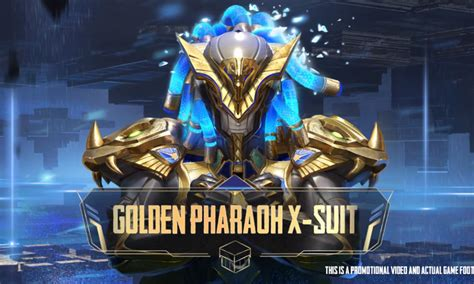 PUBG Mobile revealed a new outfit called Pharaoh X-Suit - NNS