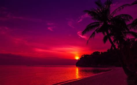 Thailand Beach Sunset Wallpapers   HD Wallpapers   ID #13404