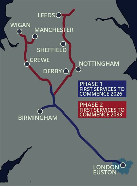 HS2 route mapped: Where the new High Speed 2 railway will