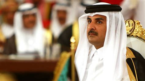 Qatar's leader in the US for talks on Gulf crisis | The