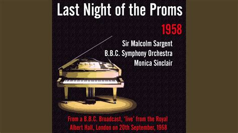 Last Night of the Proms Speech by Sir Malcolm Sargent